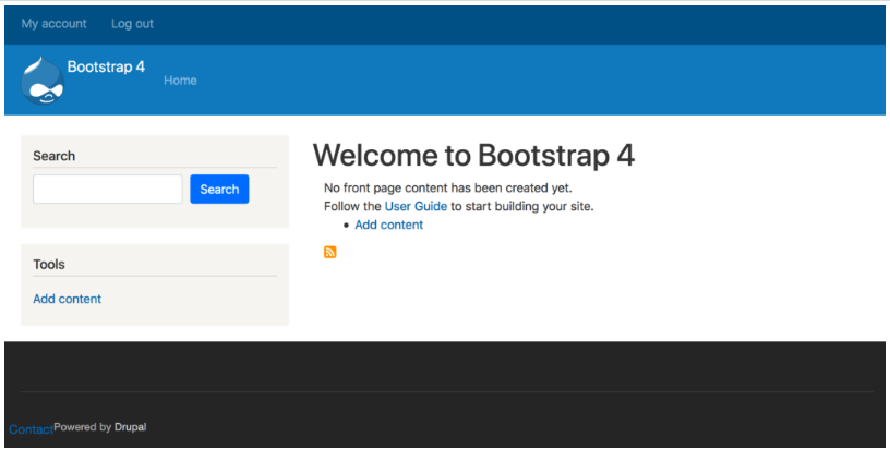 Getting Started with using Bootstrap Barrio in Drupal 8