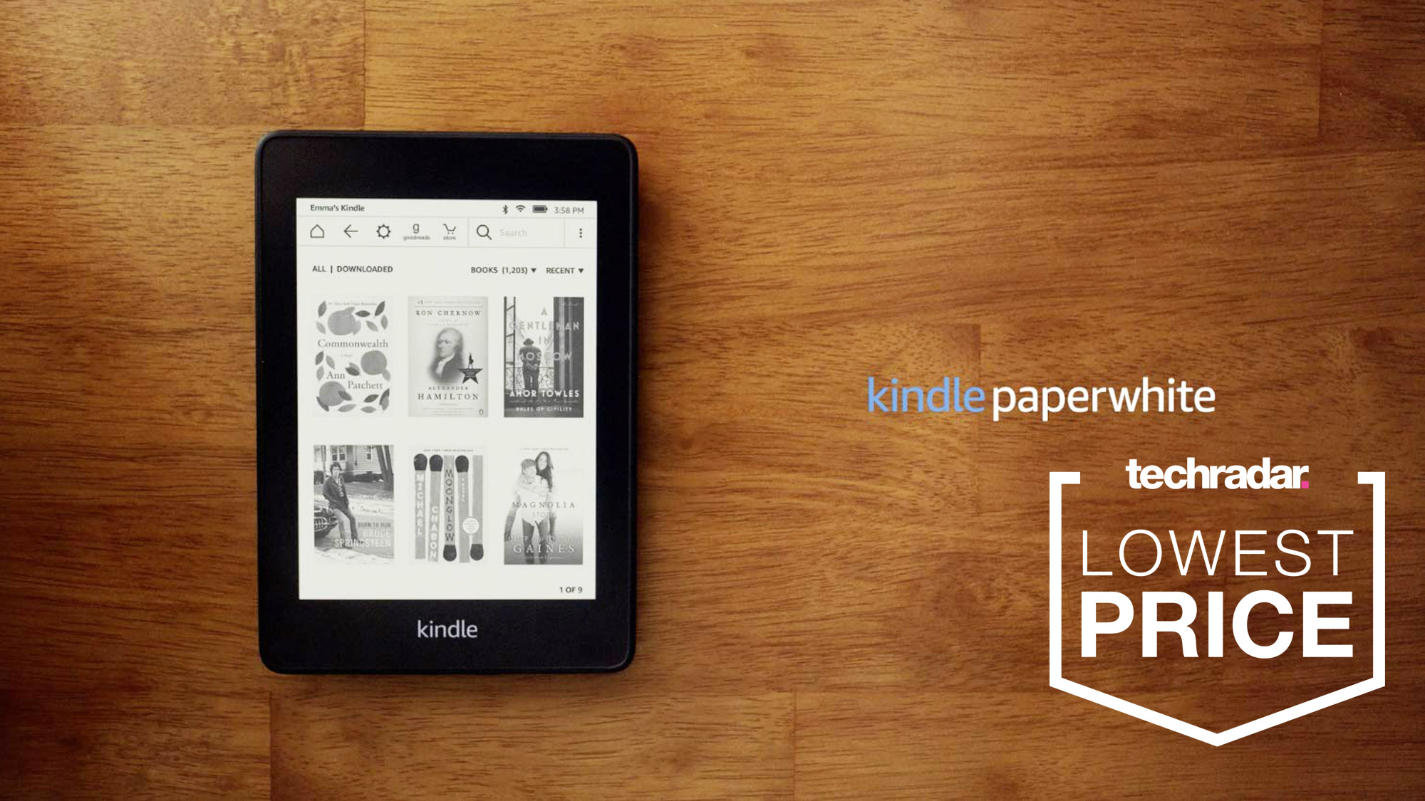 The Kindle Paperwhite is down to its lowest price ever at Amazon